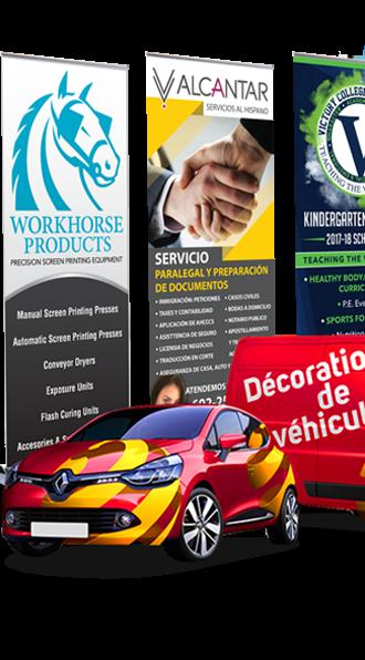 Agence de communication Marrakech digitale Habillage de véhicules