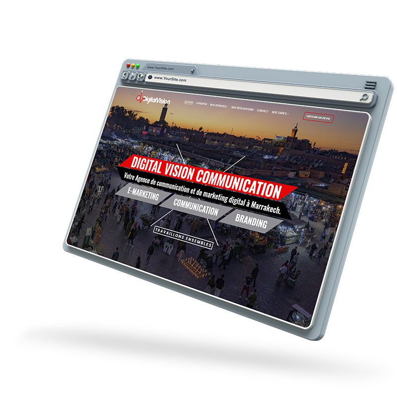 Agence web et communication Marrakech Maroc